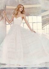 Луксозна лятна сватбена рокля