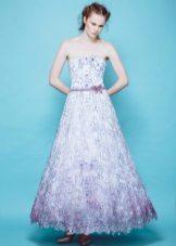 Цветна пухкава лятна рокля