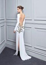 Лятна секси рокля с отворена гръб