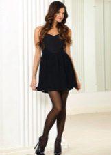 השמלה Bandeau עם חצאית רכה