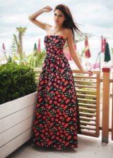 שמלת קיץ ארוכה