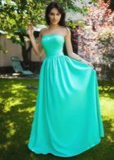 שמלת כנופיית קיץ ארוכה