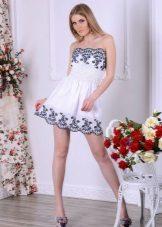 שמלת כנופיית קיץ קצרה