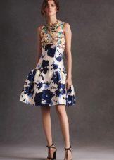 Verão crepe de chine dress