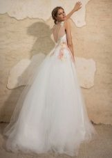 A-line Wedding Back Dress