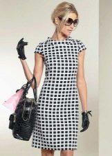 60-luvun tyyli Plaid-mekko