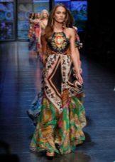 Boho-värinen mekko