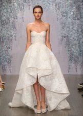 Mataas na Mababang Wedding Dress