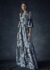 Trumpas rankovės suknelė