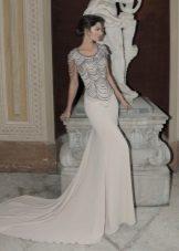 Mermaid įrengta suknelė