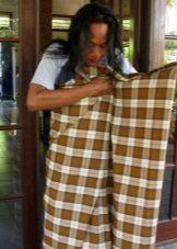 Burma Sarong - A kötés útja