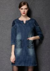 Winter dress tunic jeans