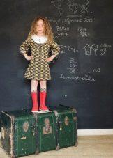 Iskolai ruha lányoknak 6-8 év