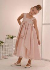 3-5 évig a magas derékú ruha lányoknak