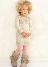 Ruha pulóver lányoknak 3-5 év