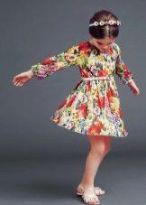 Designer vestido de verão para meninas