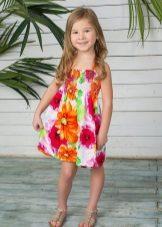 Vestido de verão para meninas brilhantes