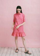 Verão de camisa de vestido para meninas 12-14 anos