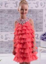 Vestido elegante para meninas 8-9 anos de idade cocktail
