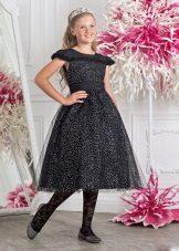 Vestido elegante para a menina cheia magnífico