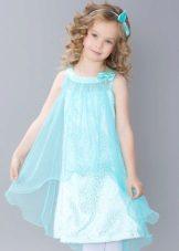 Vestido elegante para meninas mini