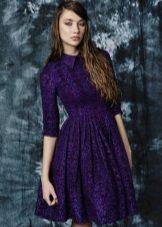 violetti tweed-mekko