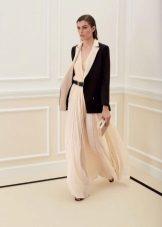 Beyaz elbise ceket