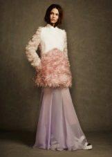 מעיל קצר לשמלה ארוכה