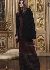 מעיל לשמלת סתיו ארוכה