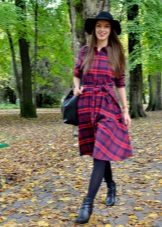 Plaid Shirt Dress Shoes