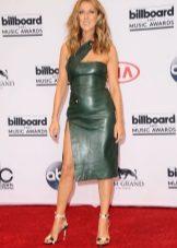 Sandálias para o vestido verde