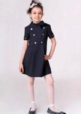 Bandana para escola vestido para meninas