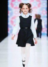 Vestido de escola para meninas