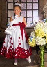 Cinto para o vestido de formatura para o jardim de infância