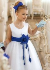 Decoração para o vestido de formatura no jardim de infância