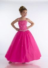 Vestido de ano novo para a menina de 11 anos uma bola