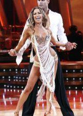Fringed suknelė šokiams