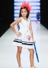 vestido para meninas 5 anos em estilo náutico