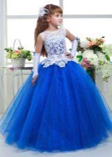Acessórios para um vestido exuberante para meninas
