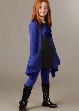 Malhas de vestido de inverno para meninas