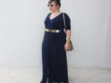 Jurken voor zwaarlijvige vrouwen met een korte gestalte