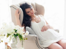 Korte jurk voor zwangere vrouwen