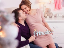 Details voor een fotosessie zwanger