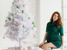 Зимна рокля за бременни жени