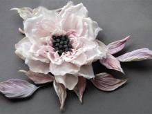 Szív gyöngyös virág