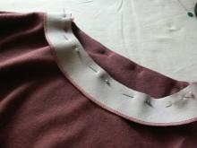 Varrni a ruhát a ruhán - 3. lépés