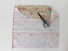 Varrni egy téglalapot egy ruha számára