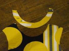 Costura de malha vestido de verão passo - 3