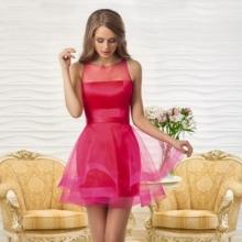 Vespersin vaaleanpunainen mekko Oksana Muchalta