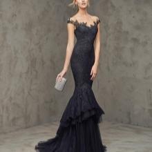 Vestido de noite de sereia